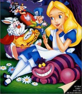 Disney : Alice au pays des merveilles